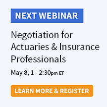 Negotiation for Actuaries and Insurance Professionals