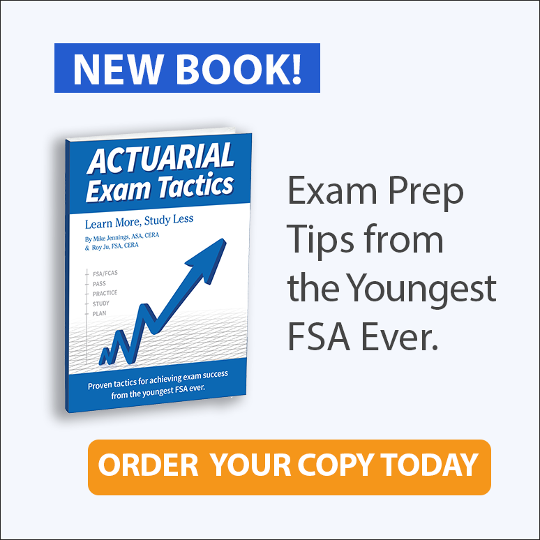 New Actuarial Exam Tactics Book