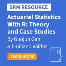 Actuarial Statistics with R