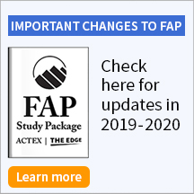 IMPORTANT CHANGES TO FAP