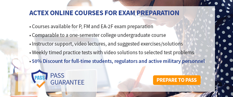 Prepare to Pass SOA Exam P with an Online Course