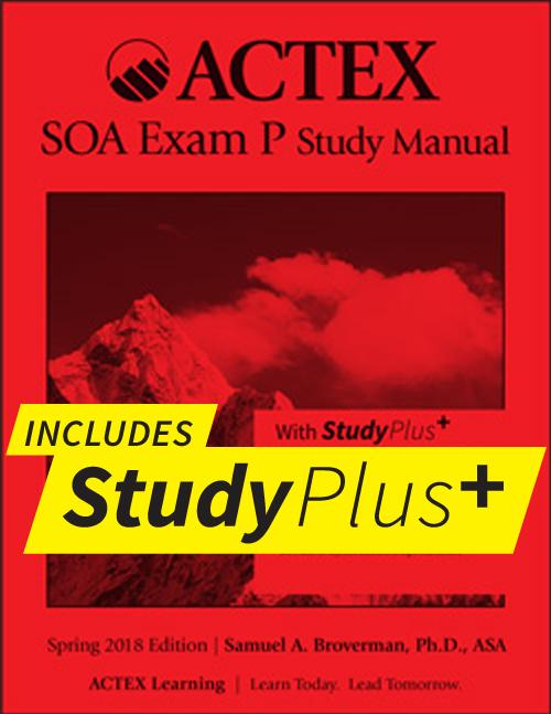 actex study manuals for actuarial exams p fm mfe mlc c s rh actexmadriver com asm study manual for exam p 1st edition spring 2017 asm study manual exam p download