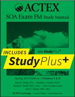 actex study manuals for actuarial exams p fm mfe mlc c s rh actexmadriver com  actex soa exam mlc study manual