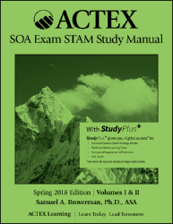 ACTEX STAM Study Manual Available Now - Actuarial Outpost